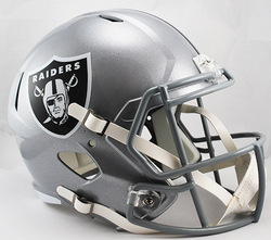 Category: Dropship Types, SKU #9585532356, Title: Las Vegas Raiders Helmet Riddell Replica Full Size Speed Style