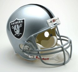 Category: Dropship Types, SKU #9585598723, Title: Las Vegas Raiders Riddell Deluxe Replica Helmet