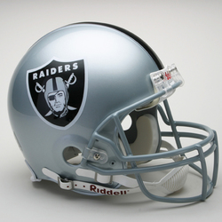 Category: Dropship Types, SKU #9585599808, Title: Las Vegas Raiders Helmet Riddell Authentic Full Size VSR4 Style