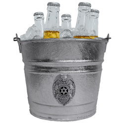 Category: Dropship Siskiyou Originals, SKU #SICE51, Title: POLICE ICE BUCKET