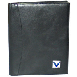 Category: Dropship Military, Patriotic & Firefighter, SKU #SLP18, Title: Air Force Padfolio
