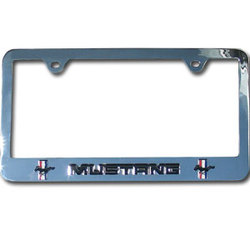 Category: Dropship Military, Patriotic & Firefighter, SKU #STF844, Title: Mustang Tag Frame