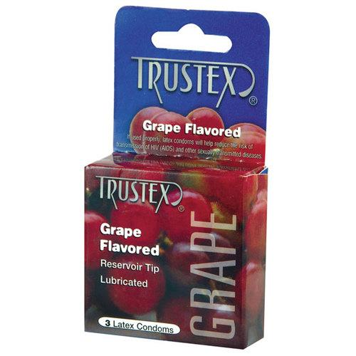Trustex: Grape Condom 3pk