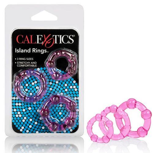 Island Rings - Pink