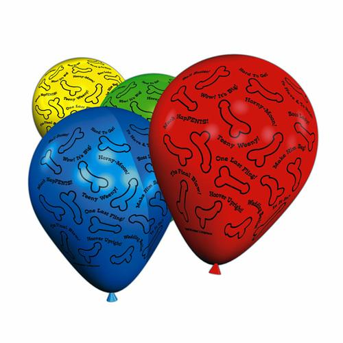 Bachelorette R-Rated Balloons (8)