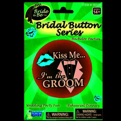 Bridal Groom Button