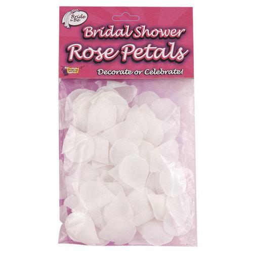 Bridal Shower Rose Petals (White)
