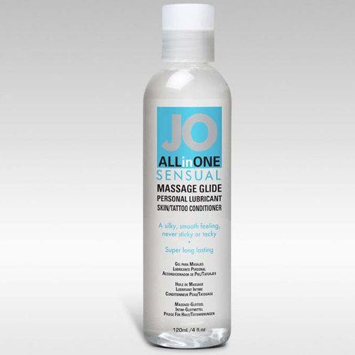 JO Massage Glide Fragrance Free 4 fl oz