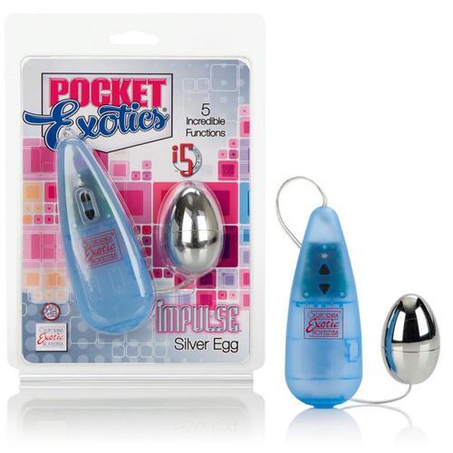 Impulse Pocket Paks - Silver Egg