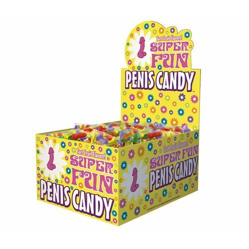 Super Fun Penis Candy 5pc. (100/DP)