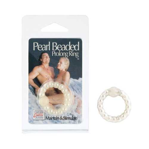 Pearl Beaded Prolong Ring - Pearl