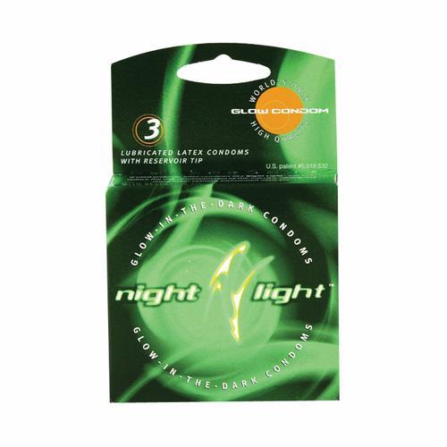 Night Light Condom 3pk
