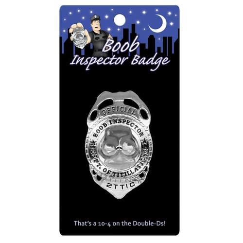 Boobie Inspector Badge