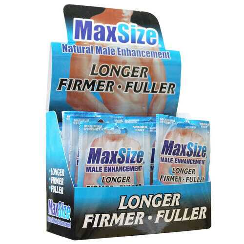 MaxSize 2 pill pack (24/DP)