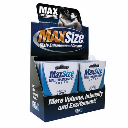 MaxSize Cream 4ml Singles (24/DP)