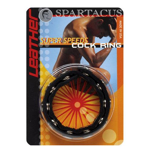 Leather 10 Speed C-Ring