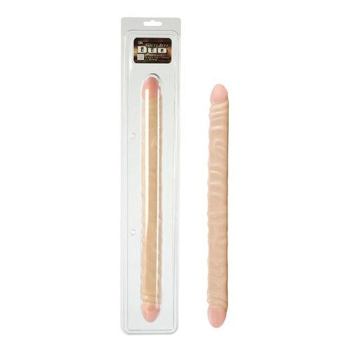 Slim Jim Duo Ivory 17in Veined Dbl Dong