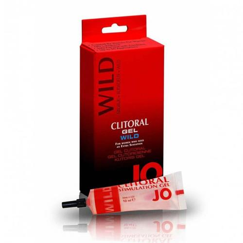 JO Clitoral Gel Warming Spicy/Wild 10cc