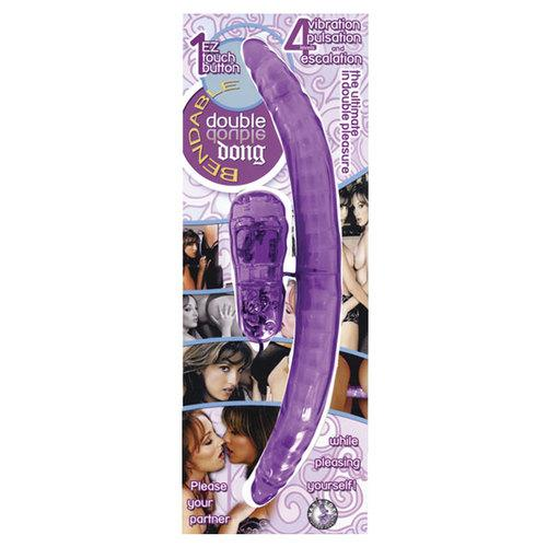 Bendable Double Dong (Lavender)