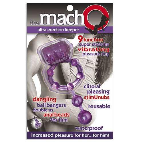The Macho Ultra Erection Keeper (Purple)