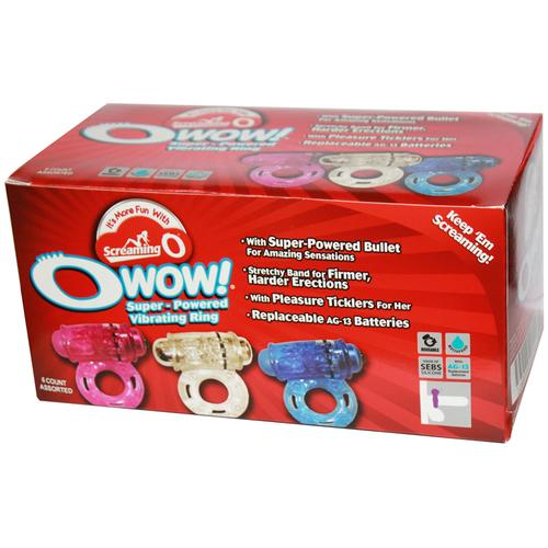 Screaming O OWow (6/Box)