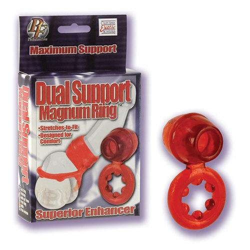 Dual Support Magnum Ring (Red)