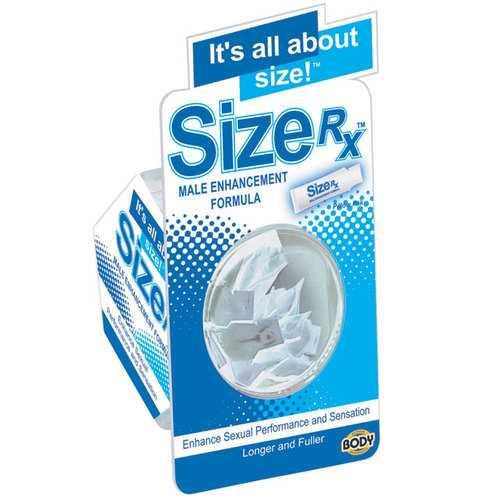 Body Action Size RX Tube 3ml (50/Bowl)