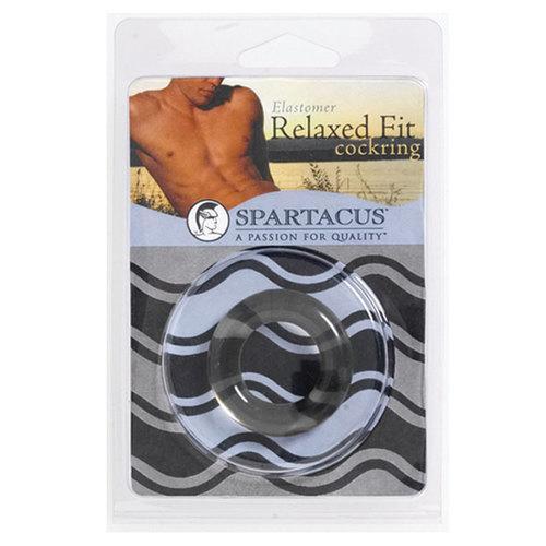 Relaxed Fit Elastomer CR (Black)