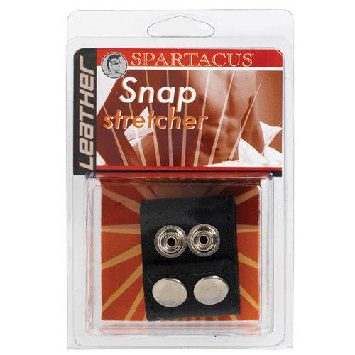 Leather Ball Stretcher W/Snaps 1.5in.