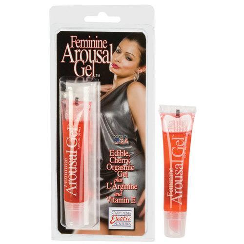 Feminine Arousal Gel Cherry Flavor