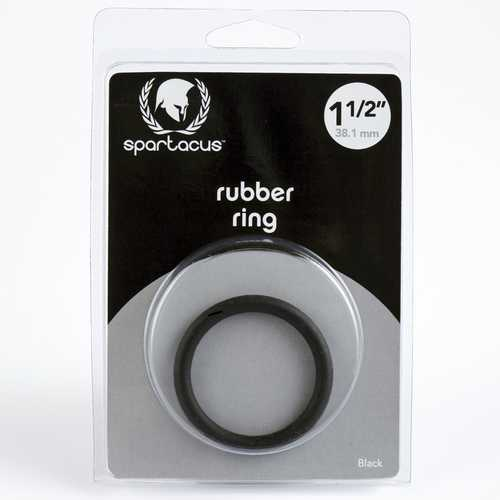Black Cock Ring 1.5in.