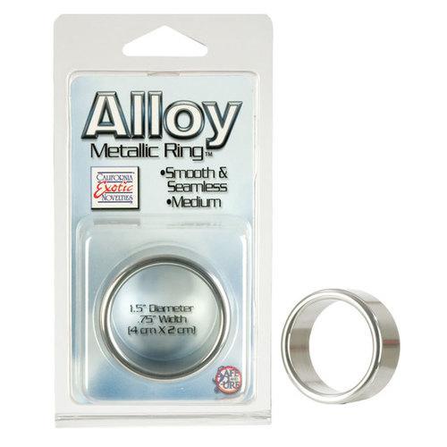 Alloy Metallic Ring - Medium