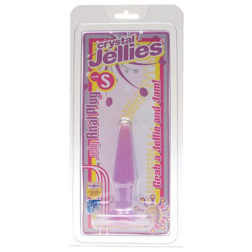 Crystal Jellies Butt Plug Purple Small