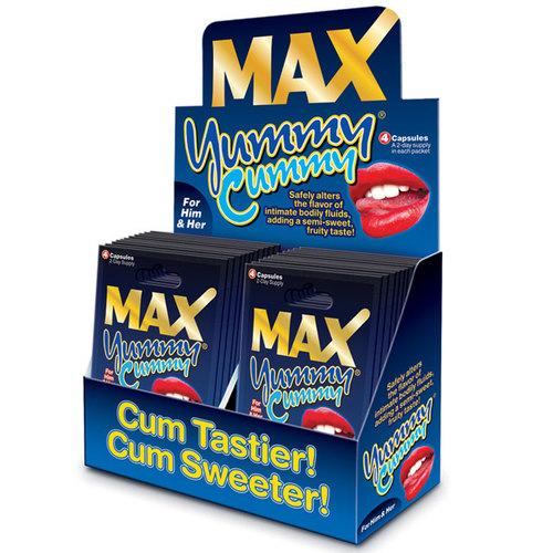Max Yummy Cummy 4-Pill Pack (24/DP)