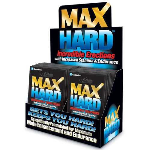 MaxHard 2 pill pack (24/DP)