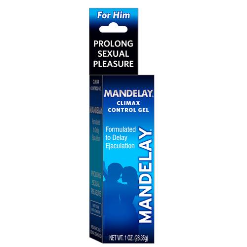 Mandelay Climax Control Gel 1oz.