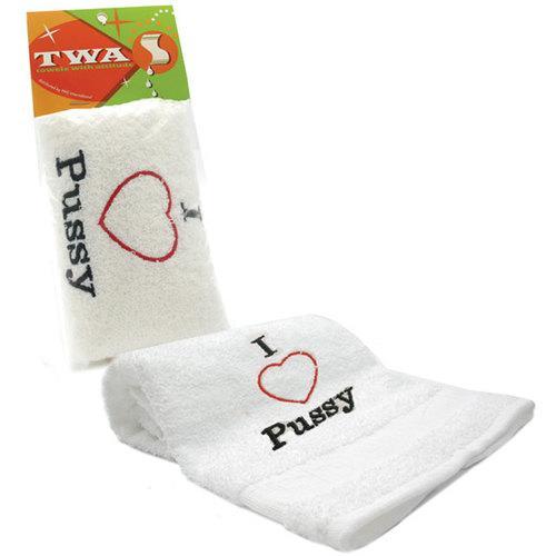 Towel - I Heart Pussy