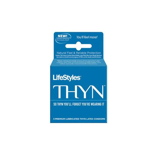 Lifestyles Thyn- Ultra Thin Condoms (3)