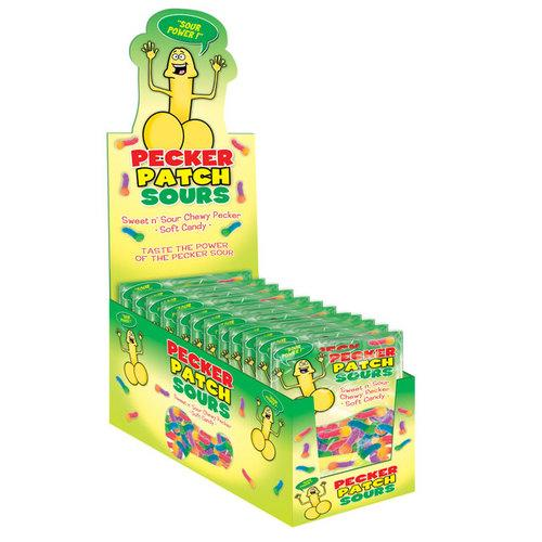 Pecker Patch Sour Gummies (12/DP)