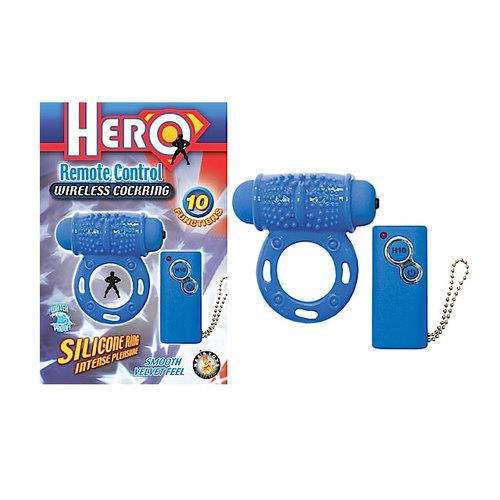 Hero Remote Wireless Cockring WP (Blue)