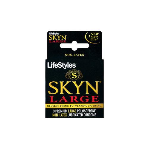 LifeStyles SKYN Large Polyisoprene 3pk