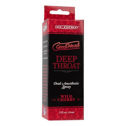 GoodHead Deep Throat Spray - Cherry