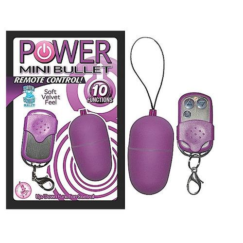 Power Mini Bullet Remote Control (Purp)