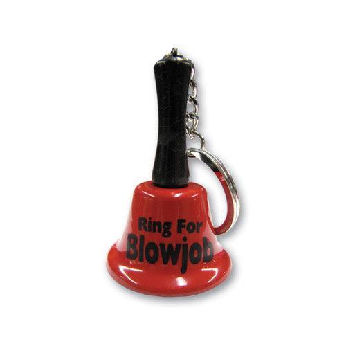Keychain bell blowjob