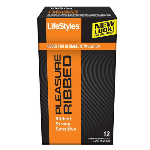LifeStyles Ultra Ribbed (12pk)