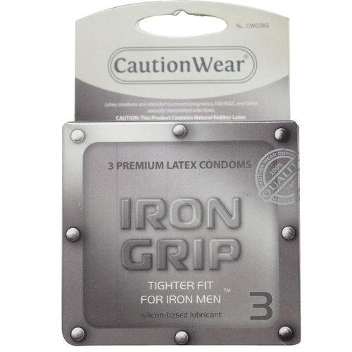 Iron Grip Condoms (3pk)