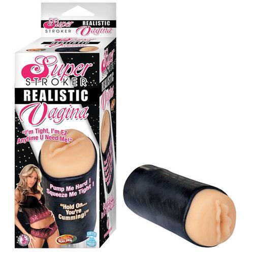 Super Stroker Realistic Vagina (White)