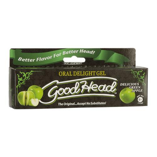 GoodHead Oral Delight Gel Grn Apple 4oz