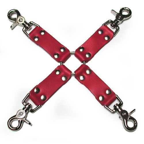 KL Leather Hog Tie Kit (Red)