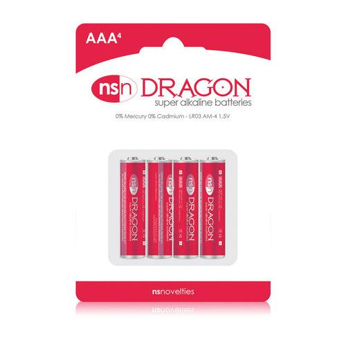 Dragon Alkaline AAA Batteries